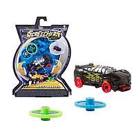 Screechers Wild: Машинка-трансформер Найтвивер, черный