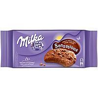 Печенье Milka Sensation Soft Inside Choco 156 гр (черные)
