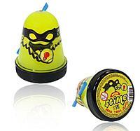 """Слайм """"Ninja"""" светится в темноте, желтый 130 г."""