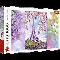 """TREFL: пазл серии Romantic. """"Весна в Париже"""" , 1000 деталей"""