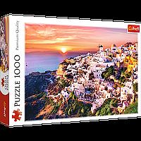 """TREFL: пазл """"Закат над Санторини"""", 1000 деталей"""