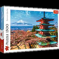 """TREFL: пазл """"Гора Фудзи"""", 1500 деталей"""