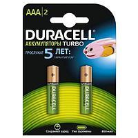 Аккумулятор DURACELL AAA HR03 850mAh (2 шт)