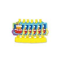 Веселая затея: Язык-гудок с карт Торт Birthday 6шт/G