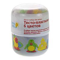 Мини-набор для лепки «Тесто-пластилин 6 цветов»