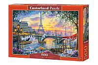 Castorland: Пазлы Время чая в Париже 500эл.
