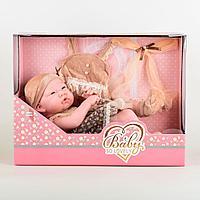 Baby So Lovely: Кукла Малыш 37 см, с н-ром одежды.