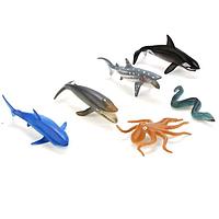 Играем вместе: Набор фигурок Морские животные 6шт.