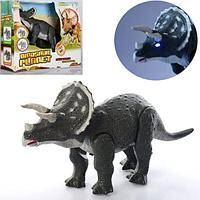 Dinosaur Planet:Игрушка Трицератопс со светом и звуком, на батарейках