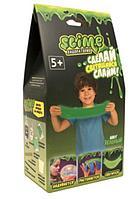 """Слайм Малый набор для мальчиков """"Лаборатория"""" зеленый 100 гр."""