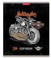 Тетрадь общая Motostyle, 96 листов, клетка