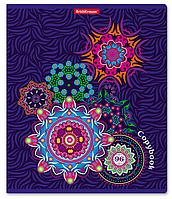 Тетрадь общая Color Circles, 96 листов, клетка