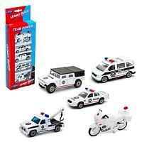 Welly: набор машин Полицейская команда 5шт