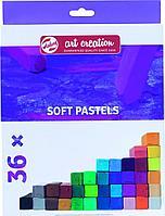 Набор сухой мягкой пастели Art Creation, 36 цв, картон