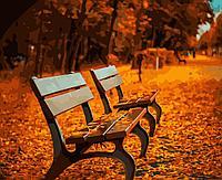 """Набор для раскрашивания по номерам  """"Осенний парк"""" 50 x 40 см"""