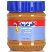 Паста арахисовая American Fresh Crunchy 340г.