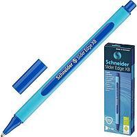 Ручка шариковая Slider Edge F синяя, чернила синие