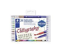 Арт-маркеры Сalligraphy duo 24 штуки