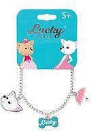 Lucky doggy: Браслет-цепочка с Чихуахуа