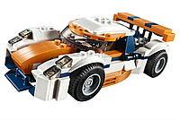 LEGO: Оранжевый гоночный автомобиль Creator 31089