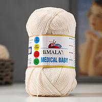 "Пряжа ""Medical baby"" 70% акрил, 30% амикор 310м/100гр (79205)"
