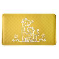 Roxy: Антискользящий резиновый коврик для ванны ROXY-KIDS 34х58см, жёлтый