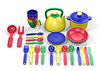 Поваренок: Набор посуды 32 пр. (пакет)