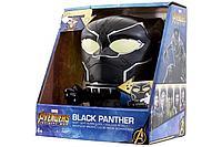 Clic Time: Будильник BulbBotz Marvel, минифигура Черная пантера14 см