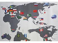 Room Decor: Карта мира