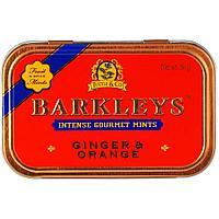 Леденцы Barkleys Mint Имбирь Апельсин 50г