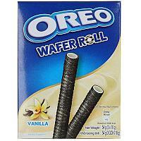 Вафельные трубочки Oreo Wafer Roll Vanilla 54г