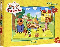 "Step Puzzle: Пазлы ""Три кота"" 104эл."
