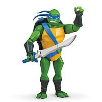 TMNT: Rise of the Turtles. Фигурка Лео с панцирем для хранения оружия 27 см