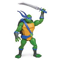 TMNT: Rise of the Turtles. Фигурка Леонардо с боевым панцирем 12 см