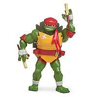 TMNT: Rise of the Turtles. Фигурка Рафаэль с боевым панцирем 12 см
