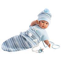 LLORENS: Кукла малыш 30 см с конвертом-переноской