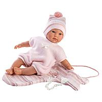 LLORENS: Кукла малышка 30 см с конвертом-переноской
