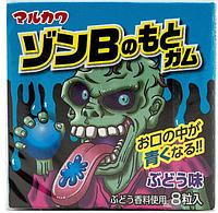 Жевательная резинка Marukawa Monsters Zombie 11г.