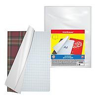 Набор пластиковых обложек Fizzy Clear для контурных карт, атласов и тетрадей A4, 306х426мм, 50 мкм