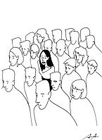 """Открытка """"Многие люди склонны преувеличивать отношение к себе других почему-то им кажется, что они у"""
