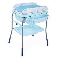 Chicco: Столик для пеленания + ванночка Cuddle&Bubble Ocean
