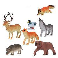Играем вместе: Набор из 7-и Диких животных умеренной полосы