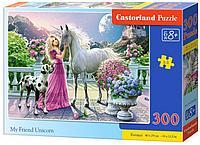 Castorland: Пазлы Мой единорог, 300 дет.