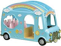 Sylvanian Families: Автобус для малышей, 2 яруса, бассейн внутри, подарок девочке