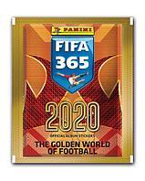 Наклейки Panini FIFA 365-2020, (в пакетике 5 наклеек)