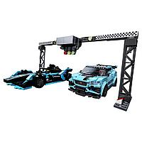 LEGO: Formula E Panasonic Jaguar Racing GEN2 car & Jaguar I-PACE eTROPHY Speed Champions 76898
