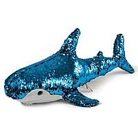 Fancy: Акула голубая с пайетками, 50 см