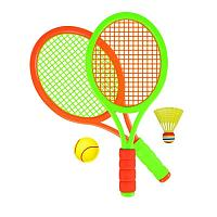 """YG Sport: Набор """"Rаcker Set"""", 56 см., (в компл. 1 мяч, 1 воланчик)"""