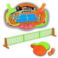 "YG Sport: Набор ""Table Tennis"", ( в компл. сетка 108х15,5 см., ракетка 2 шт., шарик 3 шт.)"