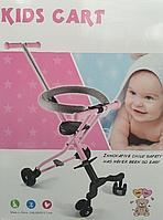 YIWUQ Sport: Trike детская, чёрный/розовый/бирюзовый, в ассорт.